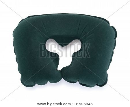 An Inflatable Travel Cervical Pillow
