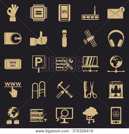 Sustenance Icons Set. Simple Set Of 25 Sustenance Icons For Web For Any Design