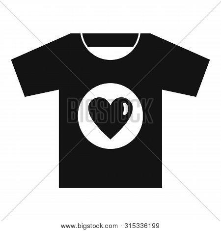 Volunteer Tshirt Icon. Simple Illustration Of Volunteer Tshirt Vector Icon For Web Design Isolated O