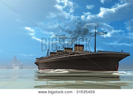 Ship And Iceberg