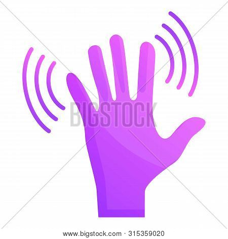 Hand Shake Icon. Cartoon Of Hand Shake Vector Icon For Web Design Isolated On White Background