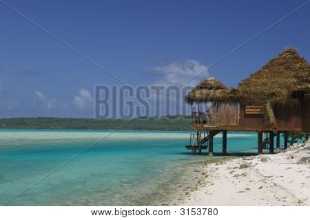 Tropical Dream Beach Paradise Over Water Bungalow