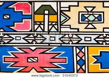 Ndebele-Kunst