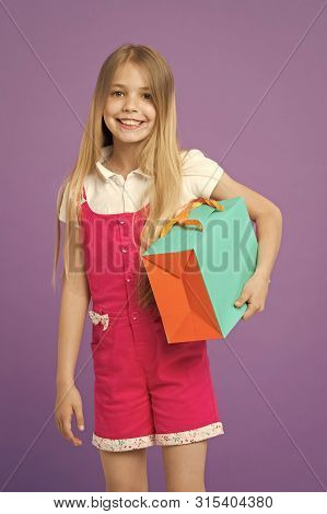 My Choice. Simple Reminders How To Shop Smart. Summer Sale. Girl Cute Teenager Carries Shopping Bag.