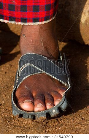 Motorrad-Sandale