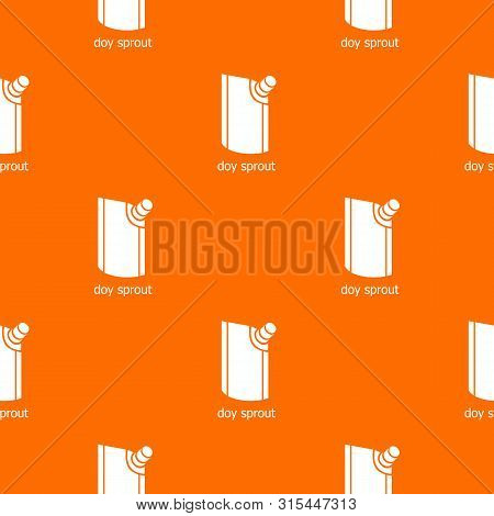 Doy Pack Pattern Vector Orange For Any Web Design Best