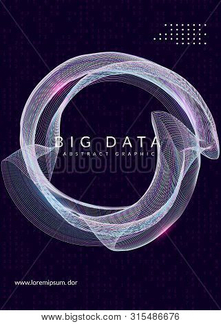 Big Data Abstract. Digital Technology Background. Artificial Intelligence And Deep Learning Concept.