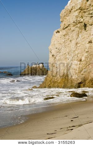 Beautiful Malibu Coastline