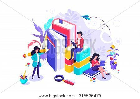 Concept Education, Online Training, Internet Studying, Online Book, Tutorials, E-learning For Social