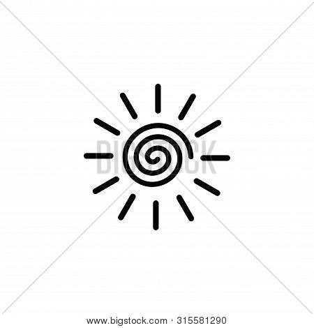 Sun Icon. Sun Collection Logo Icon Vector. Sun Star Collection, Sun Icon Logo. Sun Icon. Sun Logo. S