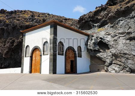 House In The Rock In Candelaria Town, Tenerife