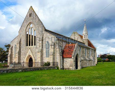 Royal Garrison Church, Aka Domus Dei, In Old Portsmouth - Portsmouth, Hampshire, Uk