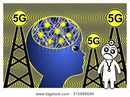 5g Affect The Brain. The Thinkable Impact Of Electromagnetic Waves On Diseases Like Epilepsy And Adh