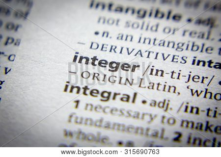Word Or Phrase Integer In A Dictionary