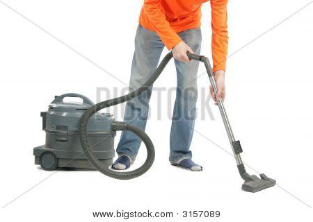 Man With Vacuum