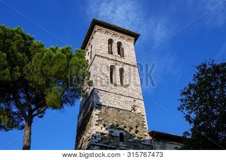 The Church Of San Francesco Delle Donne In Perugia Italy