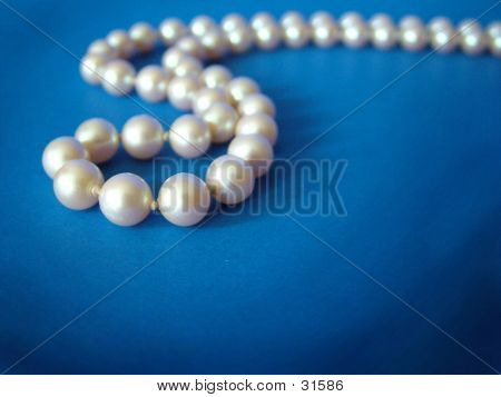 Pearls On Blue 3
