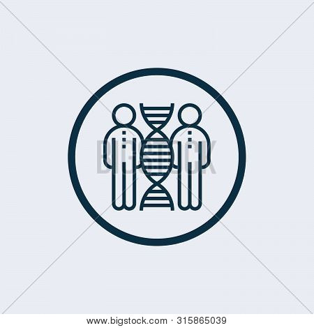 Cloning Icon Isolated On White Background. Cloning Icon Simple Sign. Cloning Icon Trendy And Modern