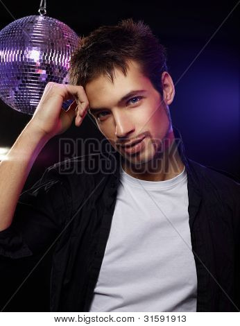 Good Looking Male On A Disco