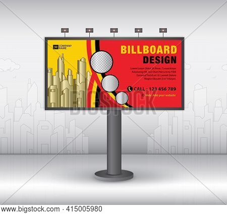 Billboard Template Design2021-no10
