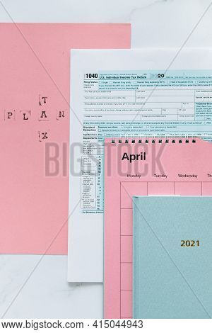 April Calender. April 2021 Calender. Months In A Year