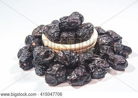 Ajwa Dates Is A Soft Dry Variety Of Date Fruit From Saudi Arabia. It Is Cultivated At Madina Tayyiba