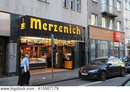 Cologne, Germany - September 22, 2020: Merzenich Bakery In Cologne, Germany. Cologne Is The 4th Most