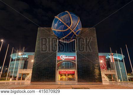 The Stark Arena, Belgrade Arena, Multi-purpose Indoor Arena In Belgrade, Serbia On March 27, 2021