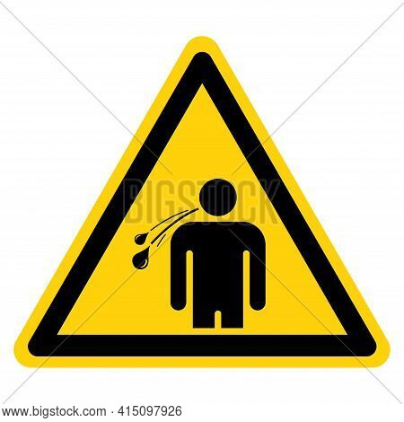 No Spitting Symbol Sign, Vector Illustration, Isolate On White Background Label .eps10