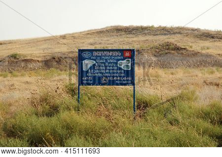 Territorry Cleared By Landmines And Explosives In Nagorno Karabakh