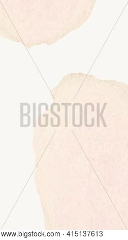 Background of beige watercolor with color stains in simple style