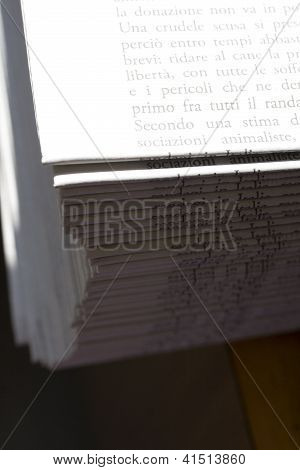 Stock Of Newspaper