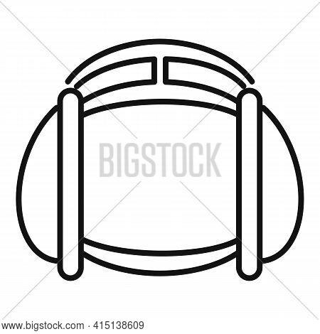 Greco-roman Wrestling Head Protection Icon. Outline Greco-roman Wrestling Head Protection Vector Ico