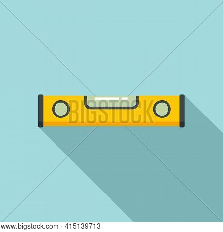 Level Tool Icon. Flat Illustration Of Level Tool Vector Icon For Web Design