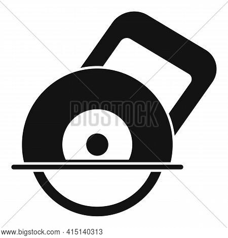 Circular Saw Icon. Simple Illustration Of Circular Saw Vector Icon For Web Design Isolated On White