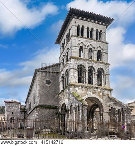 Saint Peter's Church In Vienne Is One Of The Oldest Surviving Churches In France