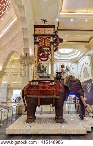 Ibn Battuta Mall, Dubai, United Arab Emirates, March 29, 2021, The Interior Of Ibn Battuta Mall Is O