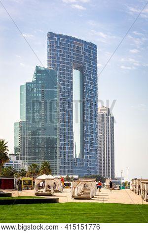 Dubai, United Arab Emirates, 22.02.2021. New Luxury The Address Residences Jumeirah Resort And Spa B
