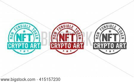 Nft Crypto Art Stamp And Stamping