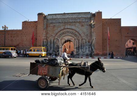 Bab Agnaou - Gate In Marrakech