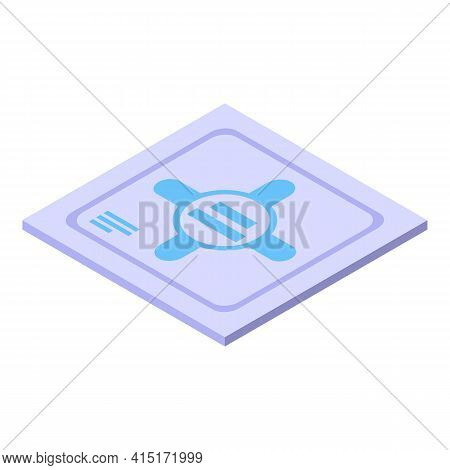 Modern Tissue Icon. Isometric Of Modern Tissue Vector Icon For Web Design Isolated On White Backgrou