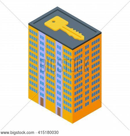Renter Building Investments Icon. Isometric Of Renter Building Investments Vector Icon For Web Desig
