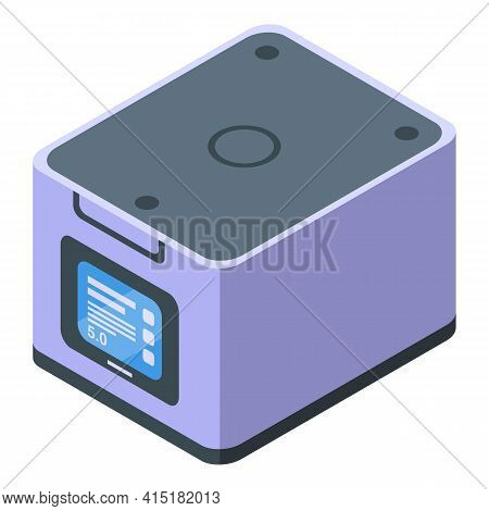 Gmo Laboratory Icon. Isometric Of Gmo Laboratory Vector Icon For Web Design Isolated On White Backgr