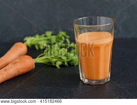 Carrot Fresh Is Ready. Carrot Fresh Is Not Just A Tasty Drink, But Also Healthy. Carrots Are Rich In