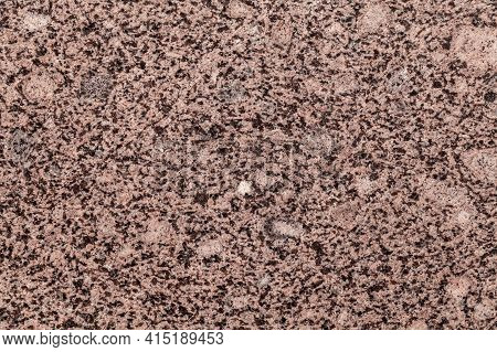 Natural Brown Granite Pattern, Close Up Background Photo Texture