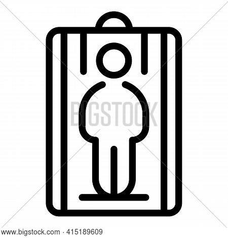Solarium Beauty Icon. Outline Solarium Beauty Vector Icon For Web Design Isolated On White Backgroun