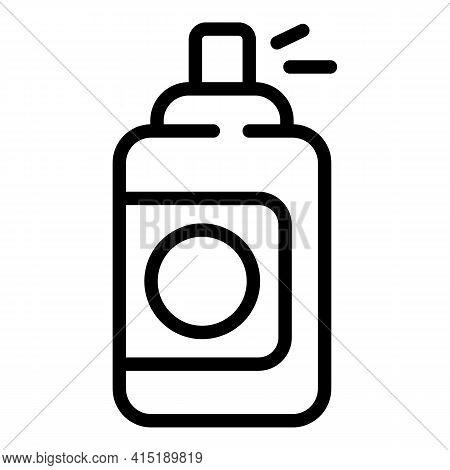 Solarium Spray Icon. Outline Solarium Spray Vector Icon For Web Design Isolated On White Background