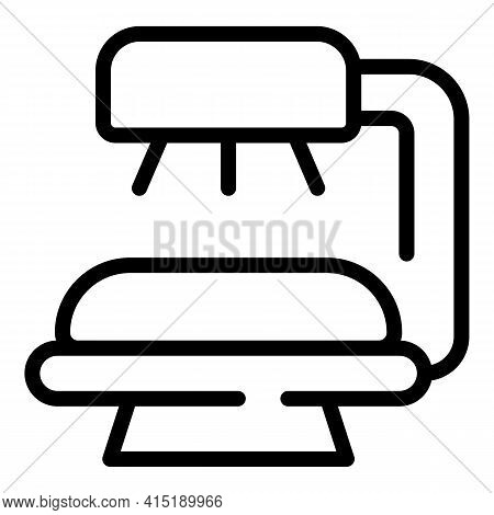 Hot Solarium Icon. Outline Hot Solarium Vector Icon For Web Design Isolated On White Background