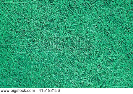 Green Decorative Wall Cladding. Abstract Design Background.