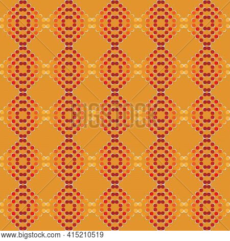 Geometric Seamless Pattern Can Be Used For Fabric, Print, Wallpaper, Gift Wrapping, Clothe, Wrapping